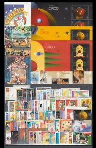 Theme Europe 2002 Complete 96 Stamps + 7 Hb