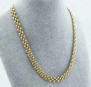 Excellent 9ct Yellow Gold Choker/Necklace 21.5 Grams *WE ARE A SHOP*