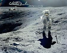 More details for charlie duke apollo 16 lmp astronaut signed autograph 10x8 photo 7 coa aftal