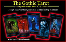 Best Seller! Gothic Tarot Card Deck Critically Acclaimed  Artist Joseph Vargo