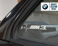 BMW M3 is in my Blood window sticker decals graphic