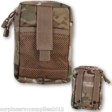 MTP MEDIC MOLLE WEBBING POUCH ZIPPED FIRST AID KIT HOLDER MULTICAM BRITISH ARMY