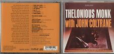 THELONIOUS MONK with JOHN COLTRANECD JAZZ LAND fuori catalogo 2000 MADE in USA