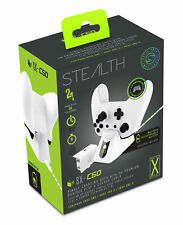 Stealth SX-C50 Single USB Charging Dock and Play & Charge Cable White (XBOX ONE)