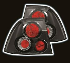 HOLDEN VECTRA JS S2 TAIL LIGHTS BLACK, 8/99 - 12/02, PERFORMANCE, AFTERMARKET