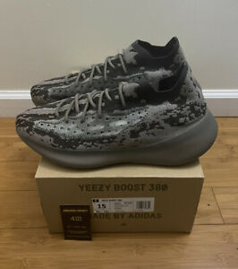 """Adidas Yeezy Boost 380 """"Stone Salt"""" GZ0472 Size 15 Mens *IN HAND FAST SHIP*"""