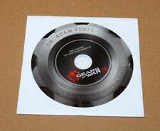 Rare Gears of War 3 Preorder Bonus Exclusive Trailer Material CD Xbox 360