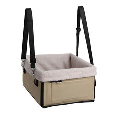 Pet Dog Cat Puppy Safety Car Seat Secure Booster Travel Carrier Basket Bed Bag Camouflage