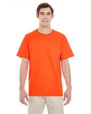 Gildan Mens Heavy Cotton T Shirt with Pocket Tee S-3XL 5300