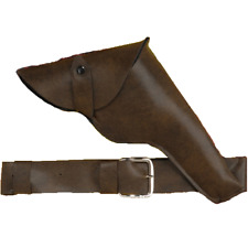 Gun Holster And Belt Indiana Jones Costume Prop Han Solo Kirk Fogg Host Adult