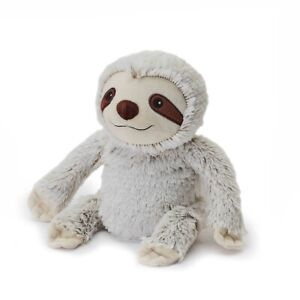 Microwavable Heat Packs Cozy Plush Soft Cuddly Toy Grey Sloth