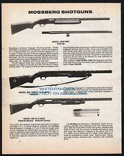 1991 MOSSBERG Model 5500 MKII, 835 Ulti-Mag Shotgun PRINT AD