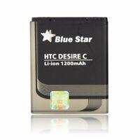 Bluestar Akku für HTC Desire C BL01100 / BA S850 Batterie Handy Accu PREMIUM