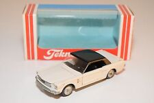/ / TEKNO DENMARK 834 FORD MUSTANG CONVERTIBLE CABRIOLET WHITE NEAR MINT BOXED
