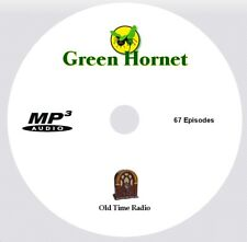 THE GREEN HORNET - OTR - Old Time Radio Show 67 Episodes on 1 MP3 CD