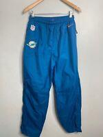 Used Nike 1/4 Miami Dolphins Windbreaker Pants Men's Medium NFL