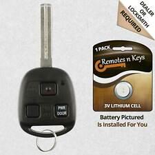 Car Transmitter Alarm Remote Key Fob Control for 2006 2007 2008 Lexus RX400h