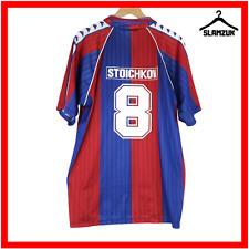 FC Barcelona Barca XL Camiseta de fútbol oficial remake Stoichkov 8 fútbol 1992 M3