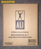 Ready Storm Toys Collectibles Muhammad Ali 1/6 The Greatest of Boxing Brown Box