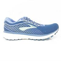 Brooks Womens Ghost 12 1203051D413 Blue Running Shoes Lace Up Low Top Size 8 D