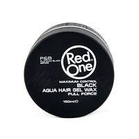 Red One Maximum Control Black Aqua Hair Wax, Full Force, 150ml