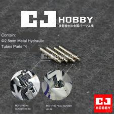 4PCs CJ Metal Detail Up Metal Hydraulic Tubes for MG 1/100 Nu Hi v Gundam ver.ka