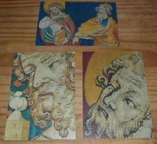 Lot de 3 cartes postales sur le thème de la Tapisserie de l'Apocalypse  à Angers