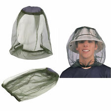 Travel Camping Bug Mesh Face Protector Mosquito Midge Hat Net Insect Head