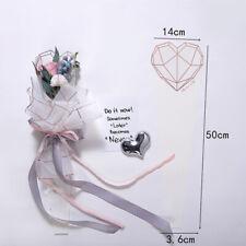 20PCS Caja de envoltura de una sola flor corazón floral Embalaje de Regalo Fiesta provisiones Acc