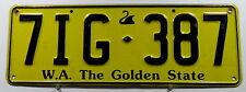 """Nummernschild Australien Western Australia """"The Golden State"""". 11567."""