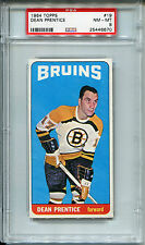 1964 Topps #19 Dean Prentice PSA 8 NM-MT Boston Bruins