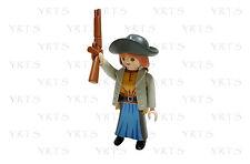 YRTS 5250 Playmobil Bandida Mujer Trenza Sombrero y Escopeta Oeste ¡New!
