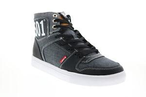 Levis 501 Mason Hi Chm 519733-01A1 Mens Black Lifestyle Sneakers Shoes