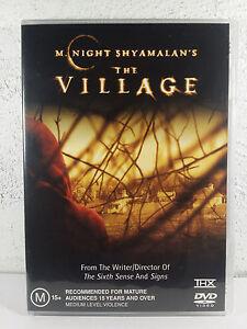 The Village - DVD - M Night Shyamalan HORROR MOVIE - Bryce Dallas Howard - REG 4