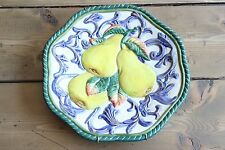 Fritz and Floyd Classic Hanging Plate Fruit Pears