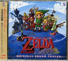 GAME MUSIC-THE LEGEND OF ZELDA: KAZE NO TAKUTO ORIGINAL SOUNDTRACK-JAPAN 2CD H40