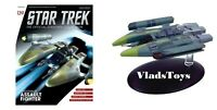 Eaglemoss Star Trek Vaadaur Assault Fighter Phythus-class Issue 139 W/Magazine