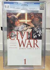 Civil War 1 CGC 9.8 White Pages Directors Cut