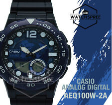 Casio Standard Analog Digital Watch AEQ100W-2A