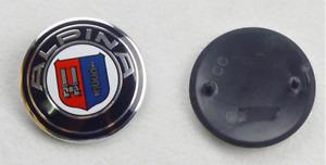 82mm ALPINA Bonnet/Boot Badge Emblem E30 E36 E46 3 Series M-TEC BMW D3 B3 FRONT
