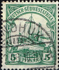 South-West Africa German Colony rare classic stamp 1906 Colonial Postmark