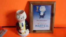 MARTELL 1955 BRANDY MAN JUG + PICTURE