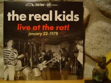 REAL KIDS Live At The Rat! January 22 1978 LP/Scorching Boston Rock/NEW!/SEALED!