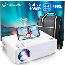 VANKYO Performance V630W 4K 5G WiFi LED Projektor Heimkino Beamer Nativer 1080P