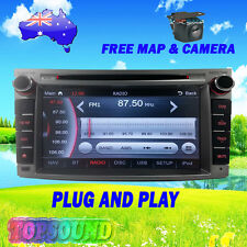SUBARU LIBERTY 2009-12 GPS DVD NAVIGATION BLUETOOTH STEREO HEAD UNIT FACTORY FIT