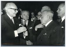 Paris, l'épée d'académicien remise au Prof. Jacques Tréfouël  Vintage