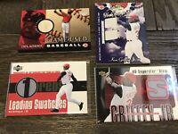 Ken Griffey Jr Relic Baseball card Lot! Cincinnati Reds! MLB legend! HOFer