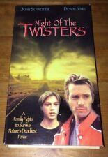 Night of the Twisters (VHS, 1996) Devon Sawa, John Schneider RARE OOP FREE DVD