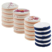 10x Soft Facial Beauty Sponge Powder Puff Pads Face Foundation Cosmetic Tool