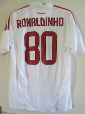 2008-2009 Ronaldinho 80 AC Milan Away Football Shirt Large (37923)